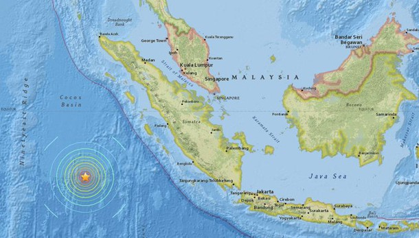 Sisma Sumatra, revocato allarme tsunami