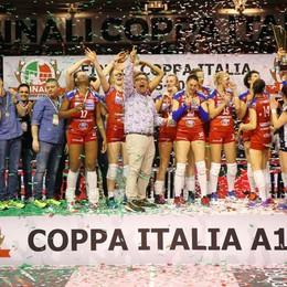 Ciclone Foppa, trionfo a Ravenna Conquistata la Coppa Italia - Foto e video