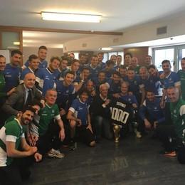 Dorino, 1.000 partite con l'Atalanta Maglia speciale al super magazziniere
