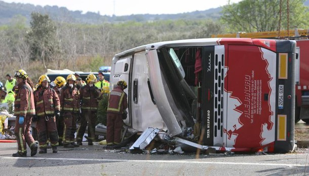 Bus Catalogna: morta studentessa Firenze