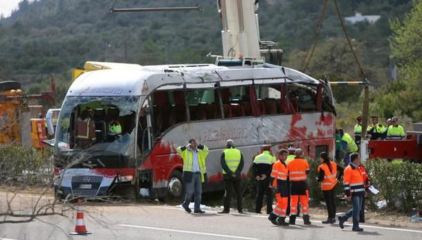 Bus Catalogna:morta studentessa Grosseto