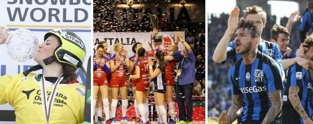 Foppa, Moioli e Atalanta: giornata trionfale Rivivila nelle foto e nei tweet dei tifosi