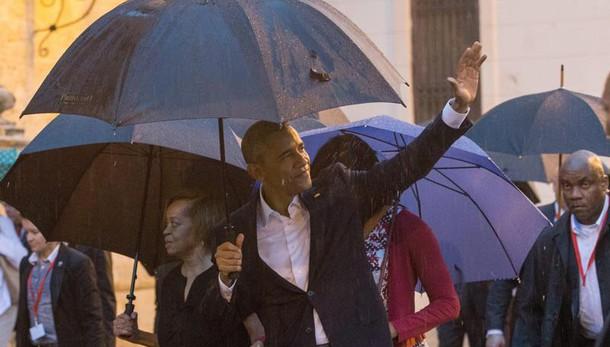 Obama a Cuba, 'è meraviglioso esserci'