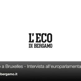 Bruxelles, intervista all'europarlamentare Zanni