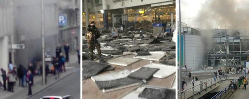 Esplosioni all'aeroporto di Bruxelles Colpita anche la metro: morti e feriti  – Live
