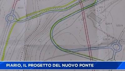 Piario, il progetto del nuovo ponte con Villa d'Ogna