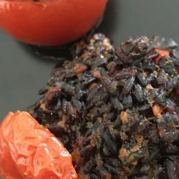 Pomodori ripieni con riso venere