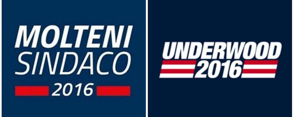 Treviglio, Molteni come Underwood Il logo è identico ad «House of Cards»