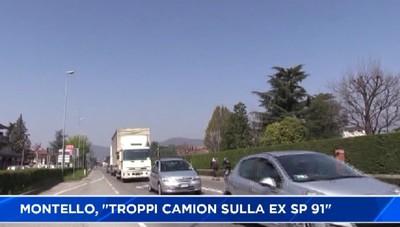Montello: Troppi camion sulla ex provinciale 91