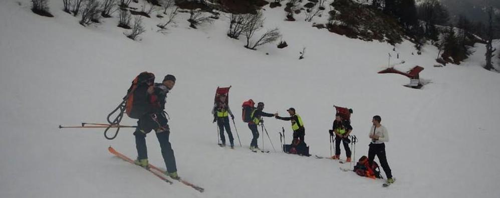 Ardesio, si rompe la caviglia Ragazzo soccorso a 2000 metri