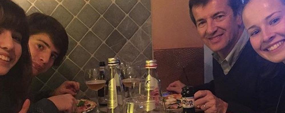 Per Gori e Parodi vacanze napoletane Vesuvio, Capri e l'immancabile pizza