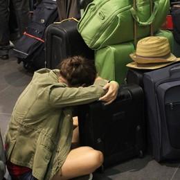 L'odissea di un viaggio Orio-Reggio «Volo sparito e ritorno in automobile»