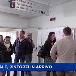 Tribunale di Bergamo, rinforzi in arrivo