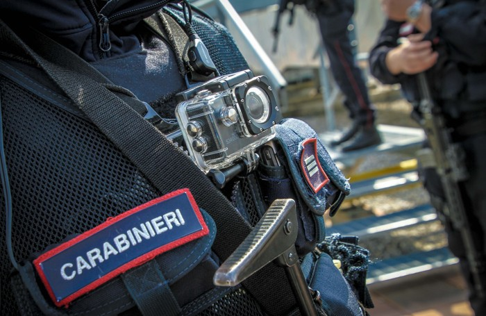 I carabinieri del reparto antiterrorismo