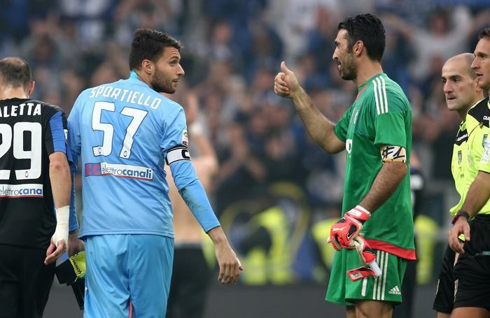 Buffon e Sportiello