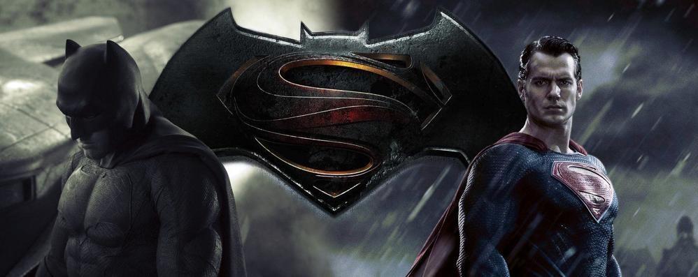 Batman contro Superman al cinema Festa a Curno per il nuovo film - Trailer