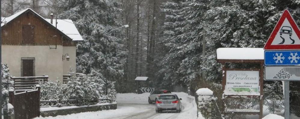 La Presolana sotto la neve Guarda tutte le fotografie