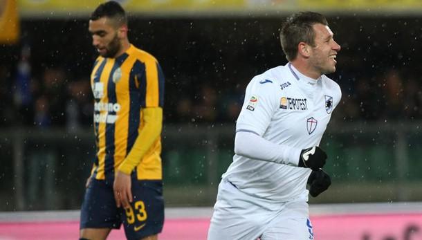 Serie A: Verona-Sampdoria 0-3