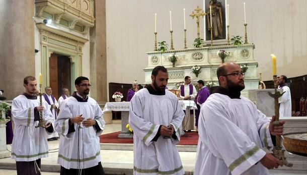 Una messa al Cairo per Giulio Regeni