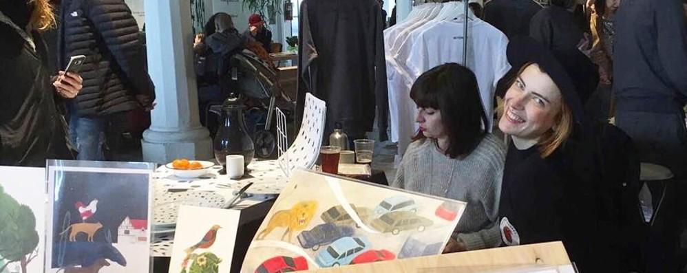 L'arte sposa il Factory market E fa il pieno di visitatori