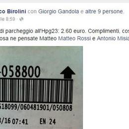Parcheggio caro dell'ospedale Il post diventa virale su Facebook