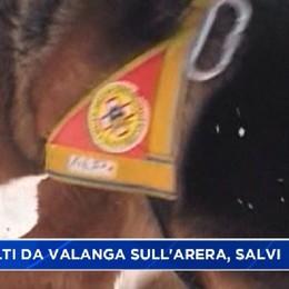 Valanga sull'Arera, due escursionisti in salvo