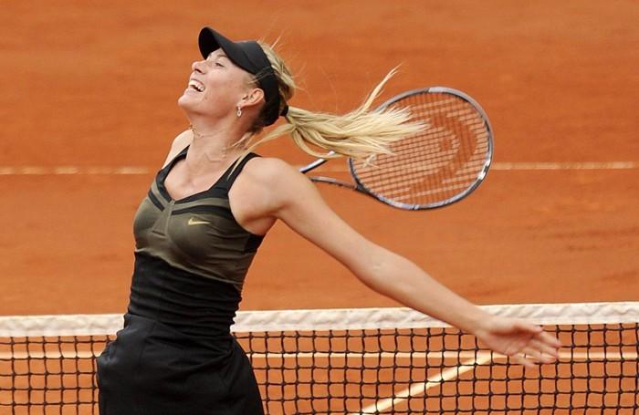 La gioia per la vittoria al Roland Garros 2012