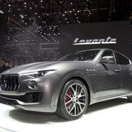 Levante, svelato a Ginevra il primo Suv di Maserati