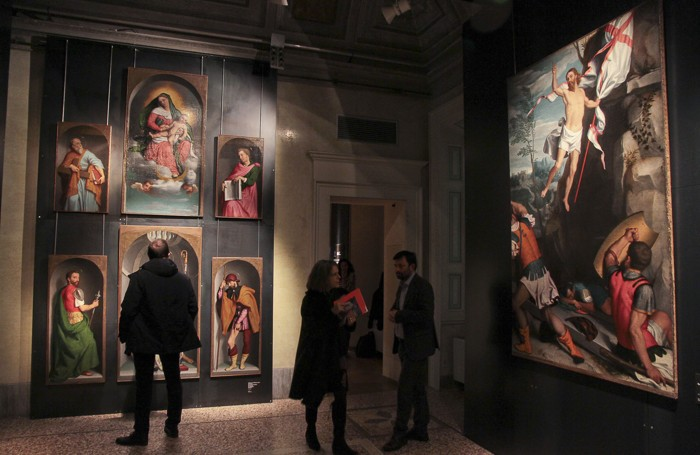 La pala d'altare di Roncola San Bernardo al Museo Bernareggi