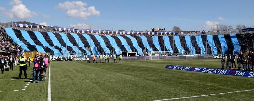 Atalanta-Roma vietata ai tifosi ospiti Ancora «porta due amici allo stadio»