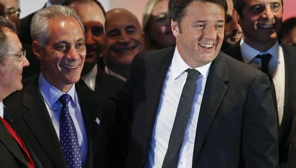 de Magistris, Renzi impregnato scandali