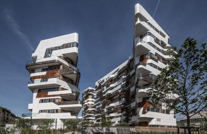 Zaha Hadid, CityLife Milano, progetto di riqualificazione del quartiere Fiera