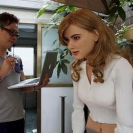 L'umanoide che replica Scarlett Scheletro stampato al 70% in 3D