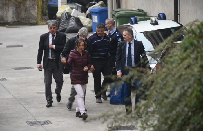 Il pm Letizia Ruggeri all'arrivo in tribunale
