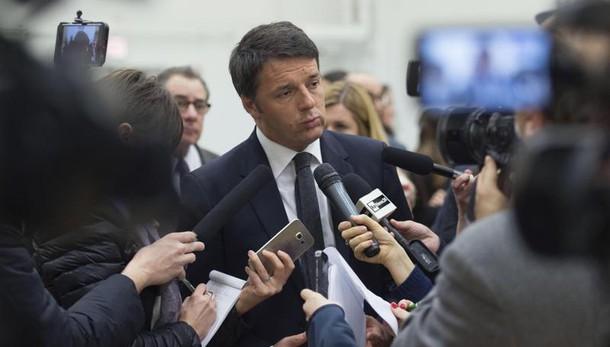 Renzi, aiutare Libia non è bombardare