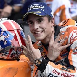 Rossi cade, Pedrosa centra Dovizioso  Ad Austin vince Marquez, Lorenzo 2°