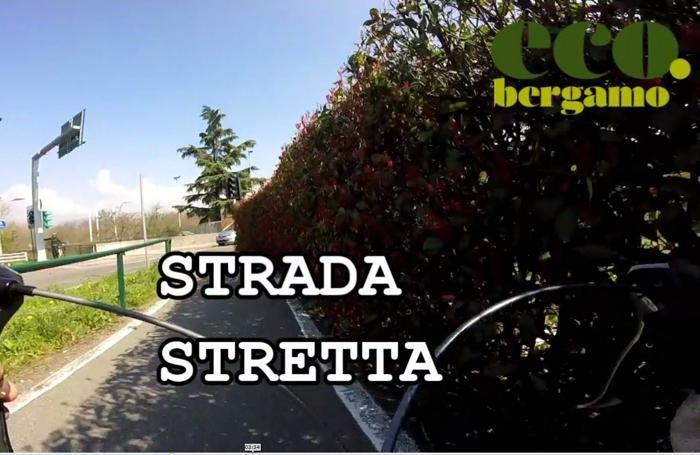 La pista ciclabile da Zanica alla stazione di Bergamo, pregi e difetti