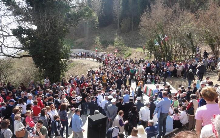 Bossico-Ceratello, ecco la panoramica   Inaugurata la strada dopo anni di attesa
