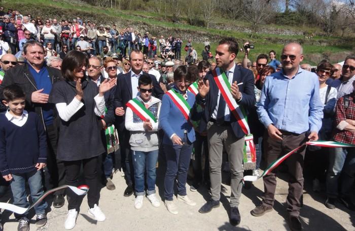 L'inaugurazione della Bossico-Ceratello