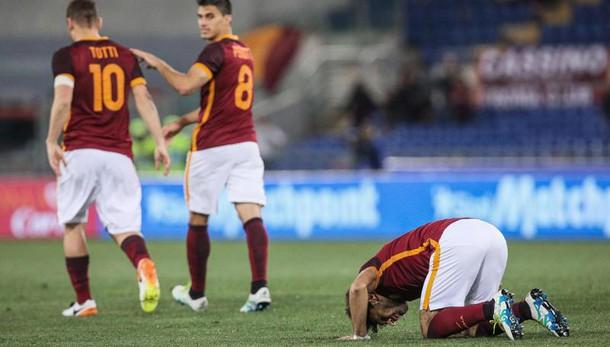 Roma-Bologna:è 1-1