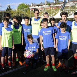 I ragazzi della Junior Tim Cup incontrano l'Atalanta a Loreto - Le foto