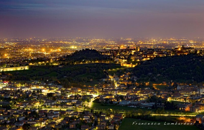 Città Alta di notte - Galleria fotografica L'Eco di ...