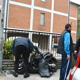 Giovane cade in moto a San Pellegrino Con l'elisoccorso in ospedale: è grave