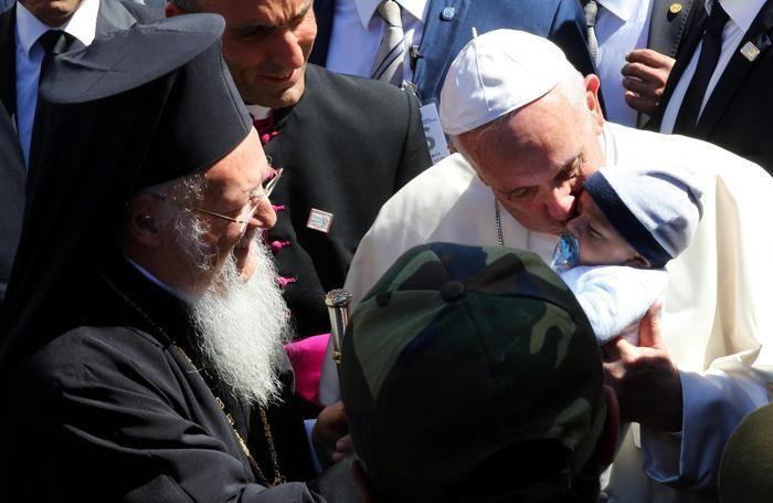 Il Papa a Lesbo