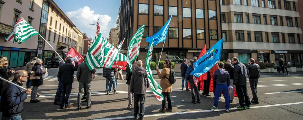 Metalmeccanici, il 20 sciopero unitario Manifestazione anche a Bergamo