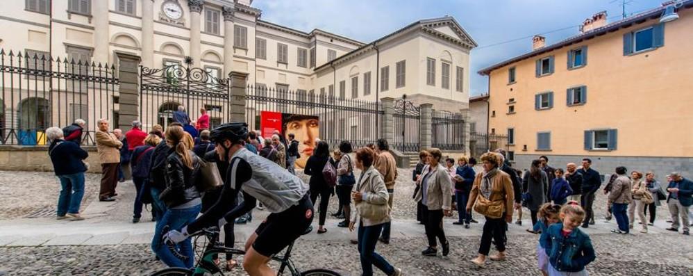 Accademia Carrara, tre notti bianche Si festeggia un anno dalla riapertura