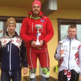 Colombi, finale di stagione speciale Cinque vittorie su cinque in slalom