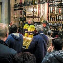 Sacra Spina, già 20 mila fedeli Domenica  Messa col vescovo su BgTv