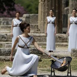 Giovedì sarà accesa la torcia olimpica Il primo tedoforo il ginnasta Petrounias