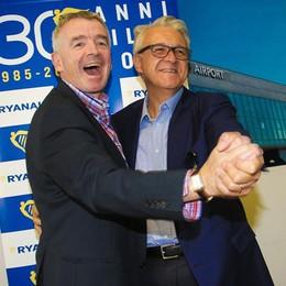 Mister Ryanair promuove Sea-Sacbo E lancia 100 mila posti a 19,99 euro